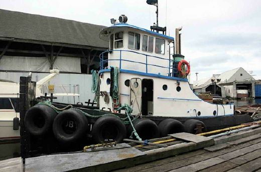 1944 Tugboat - Burger Boat Company - Gray Marine Diesel Powered