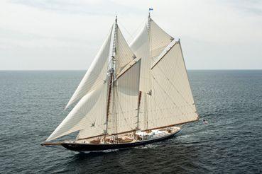 2020 Custom Starling Burgess Grand Banks Schooner Superyacht