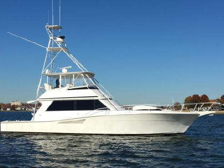 1990 Viking Yachts 53 Convertible