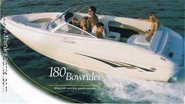 2004 Rinker Bow Rider 180