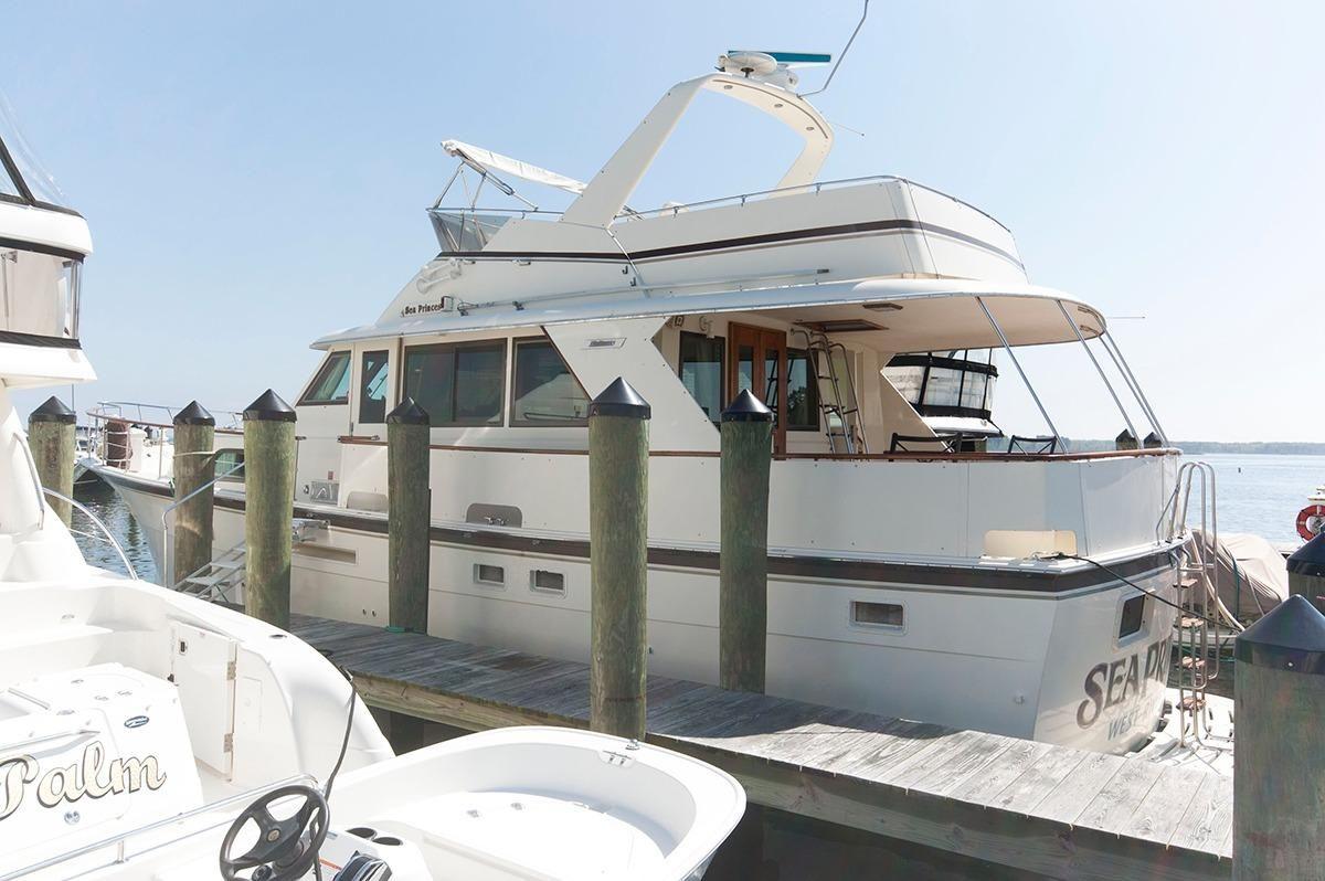 1984 Hatteras 53 Motor Yacht Power Boat For Sale Www