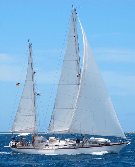 1983 custom f & c sailing yacht f&c