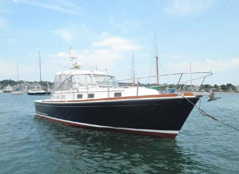 1995 Grand Banks East Bay 38 Power Boat For Sale - www ...
