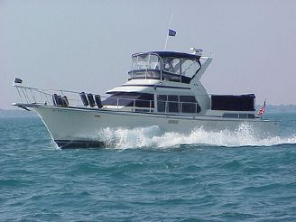 1988 Tollycraft 44' Cockpit Motor Yacht