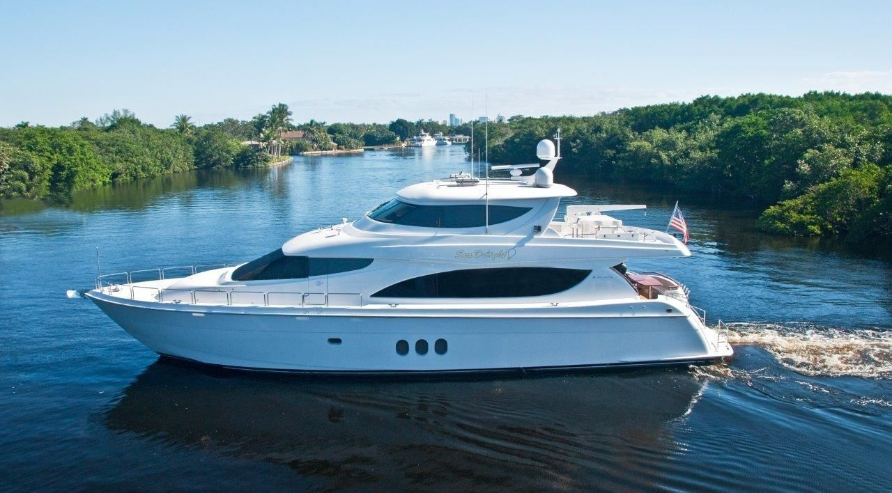 2008 hatteras skylounge motoryacht power boat for sale for 80 hatteras motor yacht