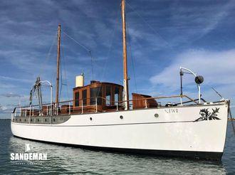 1914 Custom White Brothers Motor Yacht