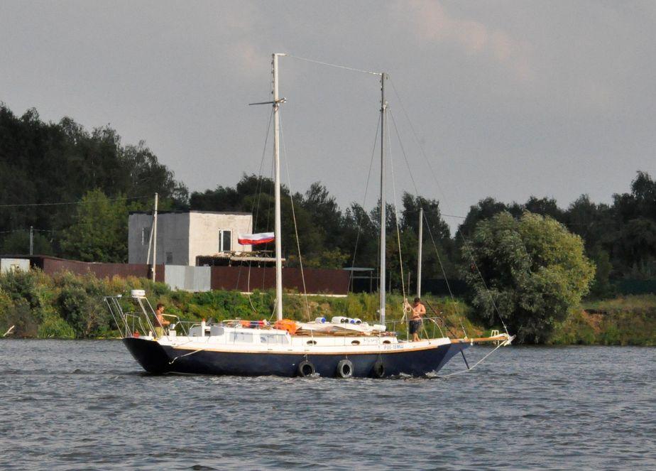Custom steel schooner for sale waa2 for 68 garden design gaff rigged schooner
