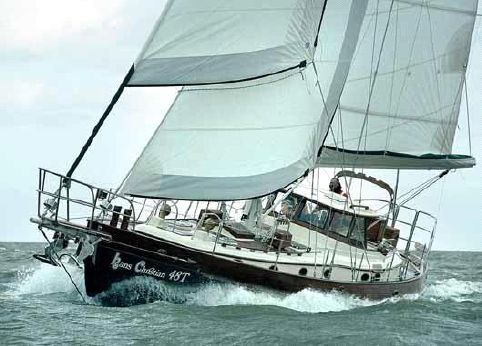 2015 Hans Christian 41 Traditional Cutter