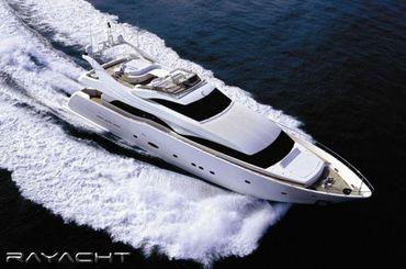2003 Ferretti Yachts 94' Custom Line