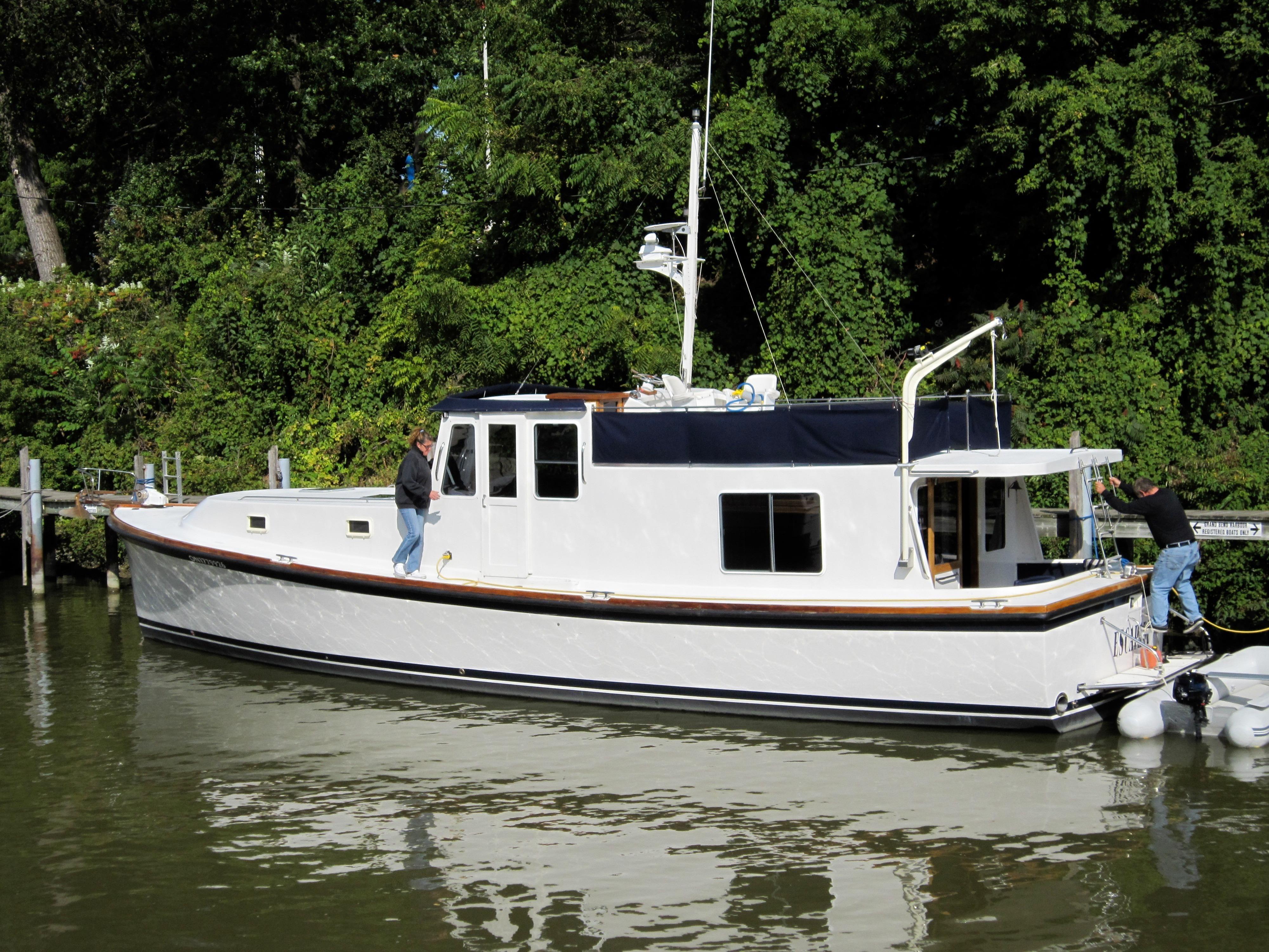 1977 uniflite 50 ft custom motor yacht power boat for sale for 50 ft motor yachts for sale