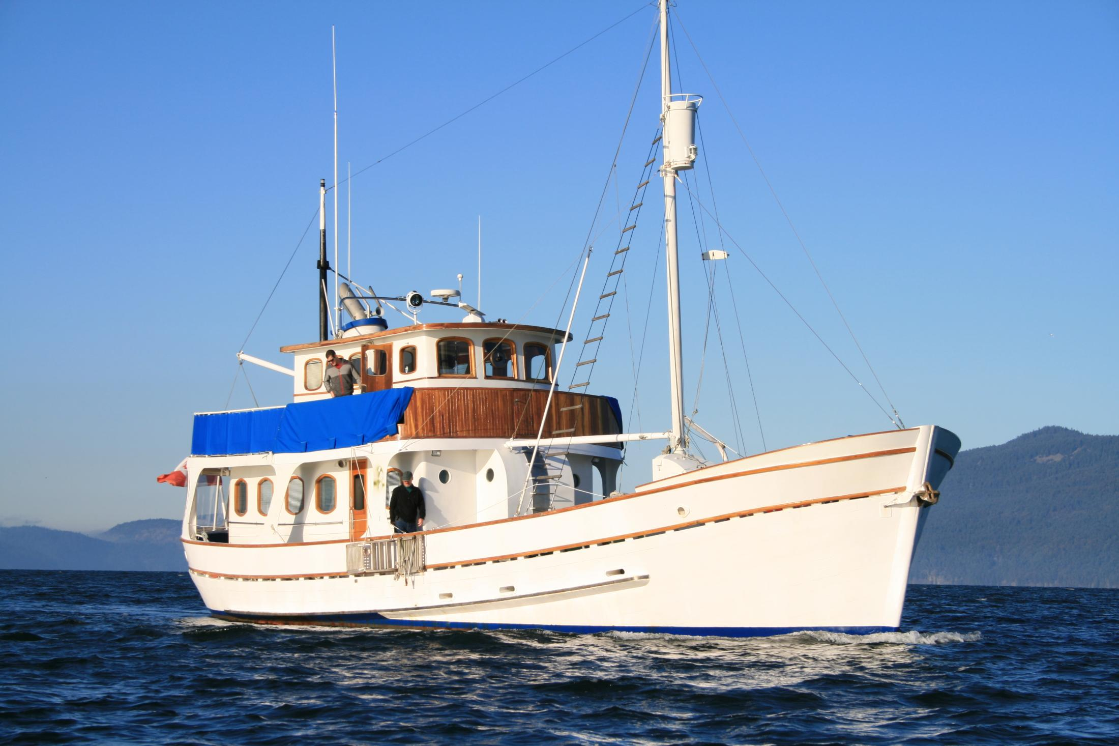 Trawlers For Sale Pilothouse Trawler Trawler Yachts Page 1