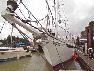1987 Custom Steel schooner