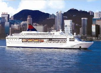 1990 Modern Cruise Ship, 1900 Passengers -Stock No. S2438