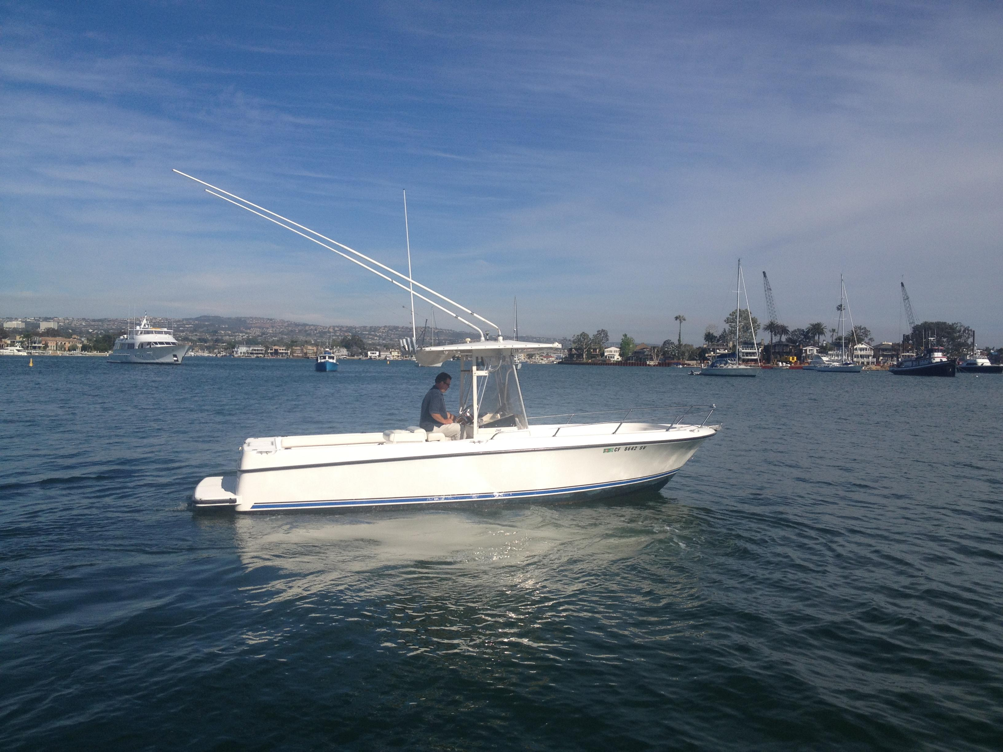 24 ft 1997 shamrock 246 open