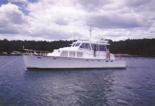 1963 Huckins Linwood 53 Motoryacht