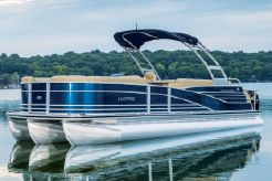 2015 Harris GRAND MARINER SL 250 with 300HP