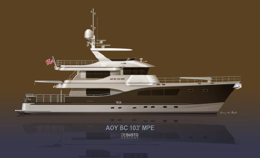 2017 All Ocean Yachts Bc 103 Fiberglass 2014