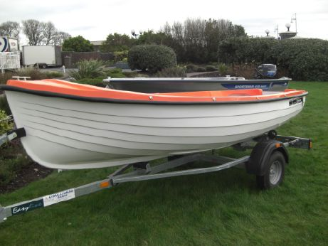 2015 O'sullivans Marine OSM 404 with Engine & Trailer