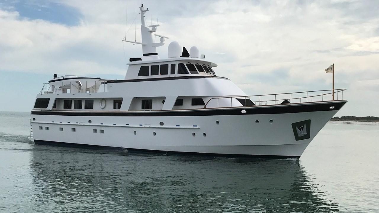 Motor Vessal Amizad: 1989 Cheoy Lee 103 Motor Yacht Power Boat For Sale