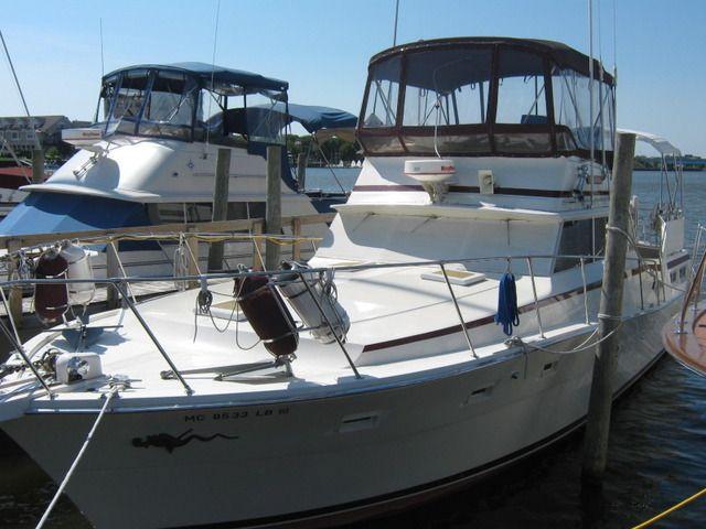 1980 viking 43 double cabin power boat for sale www for Viking 43 double cabin motor yacht