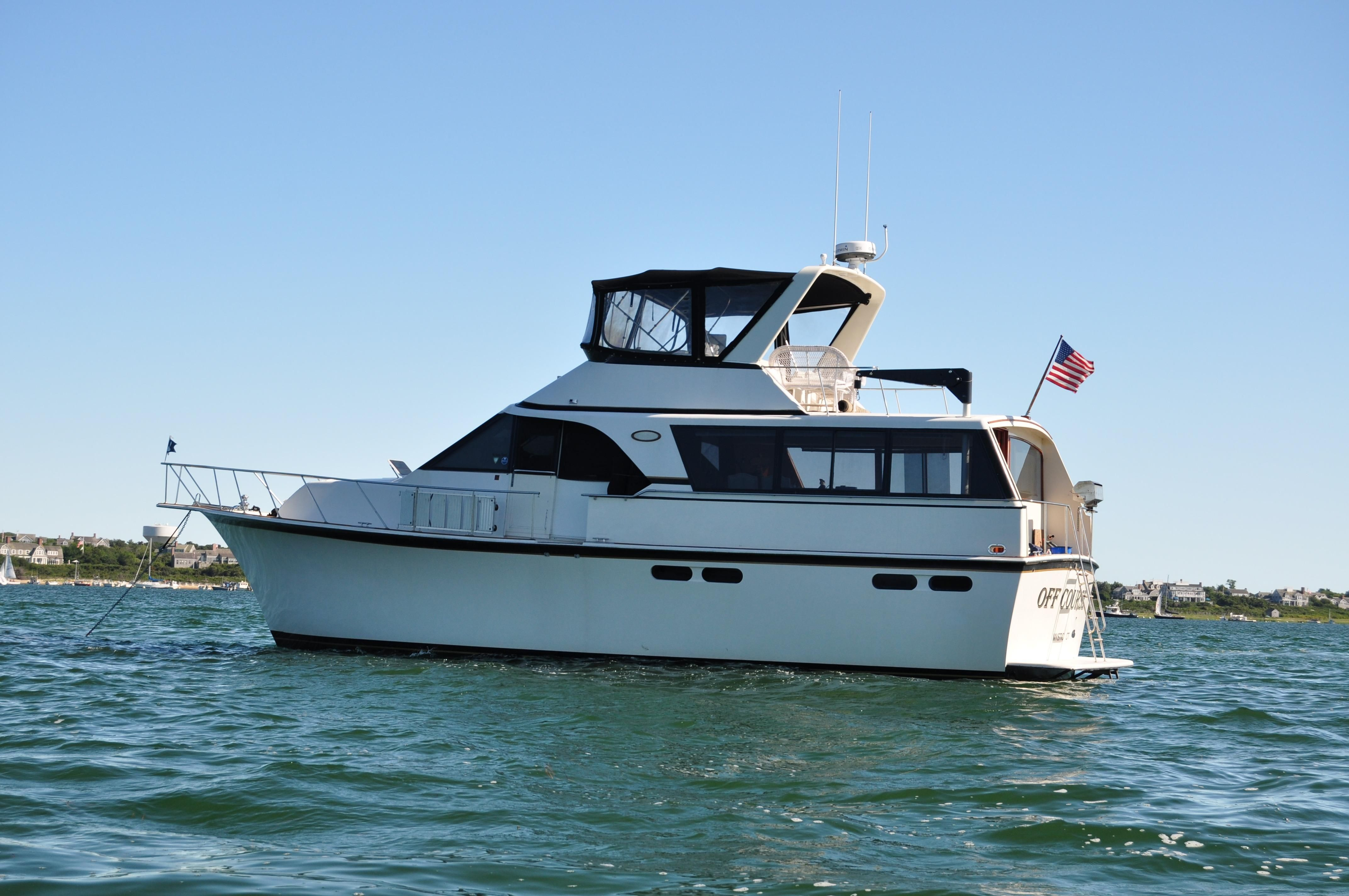 1990 ocean 48 motor yacht power boat for sale www