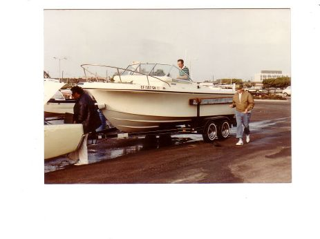 1979 Skipjack Open Cruiser