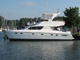 2008 Africat Marine 420 Power Catamaran