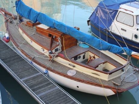1978 Wooden Gaff Rigged Cutter 36