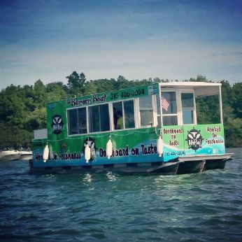 1988 Aluminum Triple Pontoon Boat - Floating Restaurant - OPEN TO ALL OFFERS