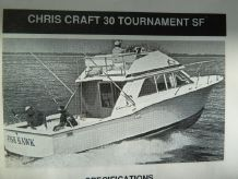 1976 Chris-Craft Tournament Project Boat