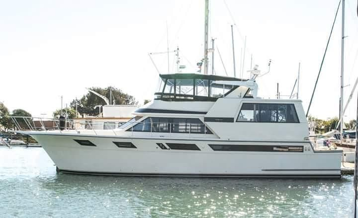 1987 Californian 55 Cockpit Motor Yacht Power New And Used