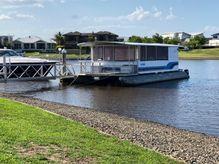 2001 Custom Bonny Weld Pontoon Houseboat