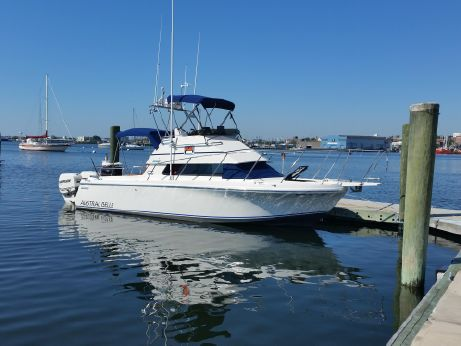 1993 Skipjack Flybridge repower 2012