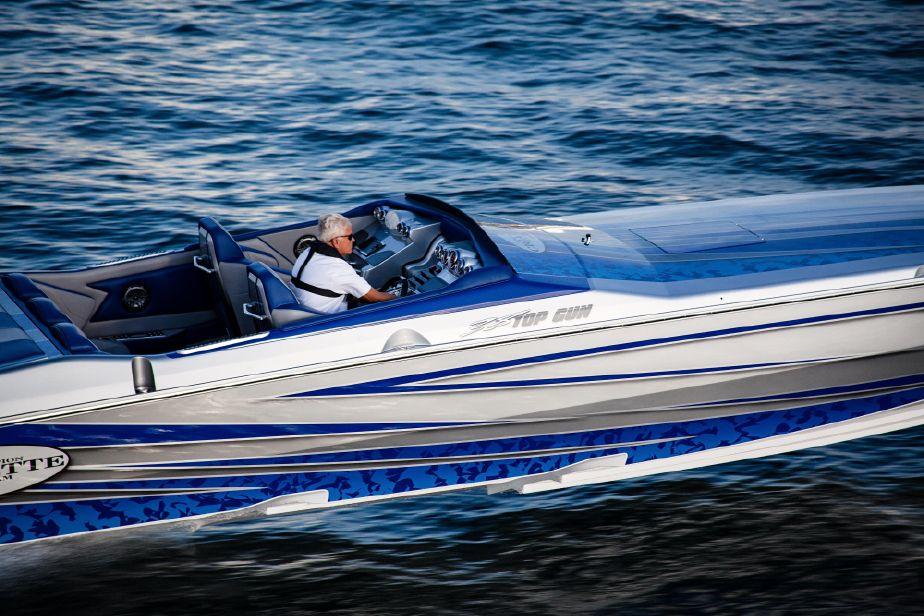 2019 Cigarette 38 Top Gun Power Boat For Sale Www Yachtworld Com
