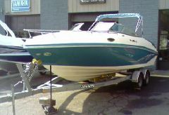 2007 Rinker 246 Cuddy Captiva
