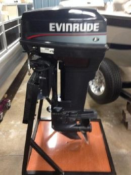 1996 Evinrude 40 Remote Long