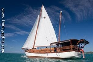 1999 Traditional Indonesian Built Charter Vessel Wooden Ketch 'Phinisi' Pinisi