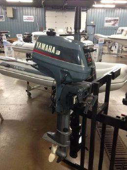 1993 Yamaha 3 hp short