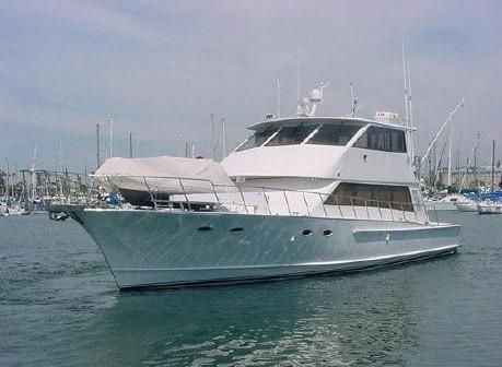1988 Kong & Halvorsen Enclosed Flybridge