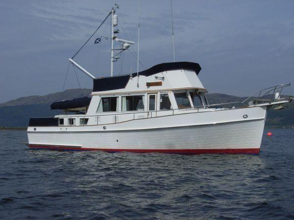 Rhu United Kingdom  City pictures : 1988 Grand Banks 42 Classic Power New and Used Boats for Sale