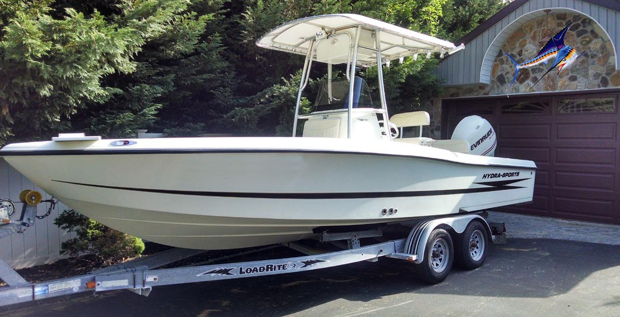 23 ft 2008 hydra sports 23 bay bolt