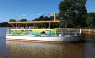 2012 Evans Boat Building Electric Passenger Tour Vessel