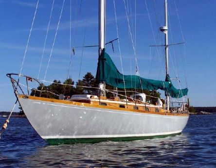 1957 Sparkman & Stephens Finisterre Type Yawl