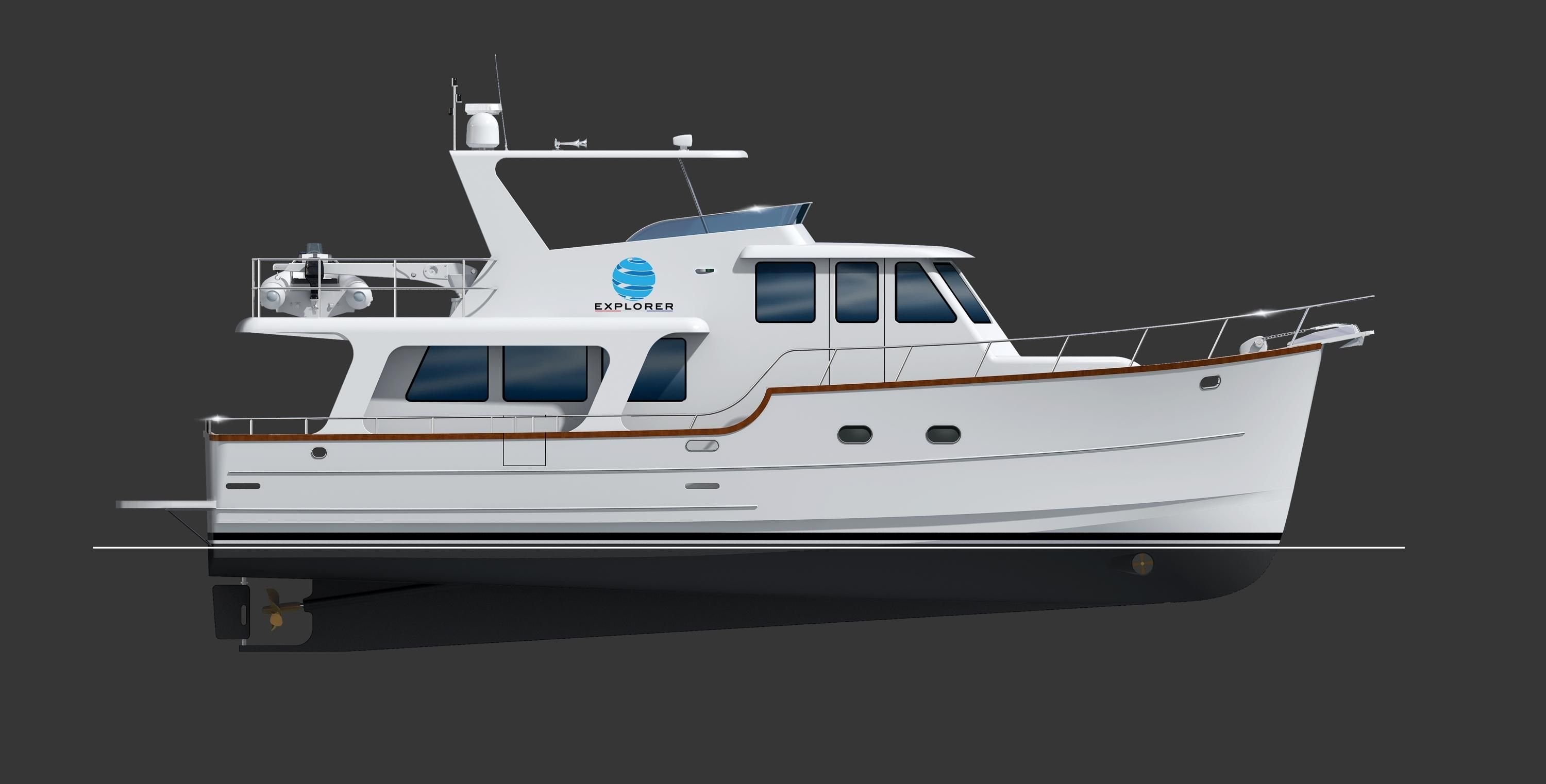 2018 explorer motor yacht pilothouse motor yacht power for Large motor yachts for sale