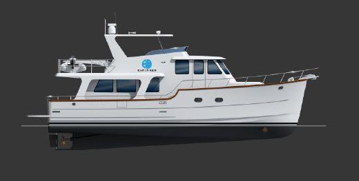 2018 Explorer Motor Yacht Pilothouse Motor Yacht