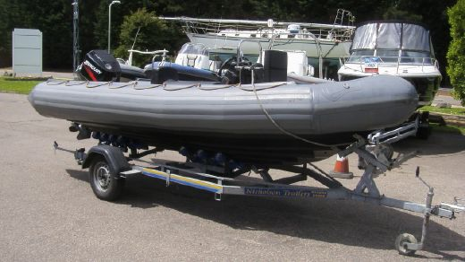 1996 Avon 5.4m RIB Mercury 90 2-stroke