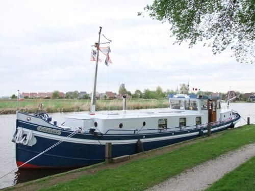 1914 dutch barge living ship motore barca in vendita. Black Bedroom Furniture Sets. Home Design Ideas