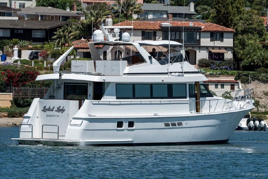 70 Hatteras Luxury Motor Yacht for sale in San Diego California