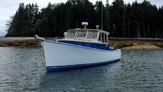 1977 Brooklin Boat Yard 34' Downeast Cruiser