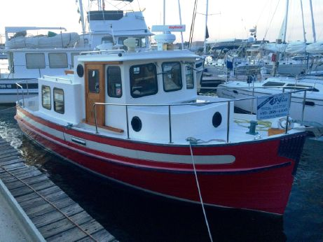 1997 Nordic Tugs 26 in the water & ready to go